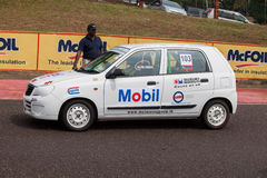 Racing suzuki car in srilanka Stock Image