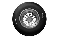 Racing tire Stock Image