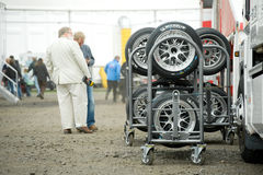 Racing tires Royalty Free Stock Photo