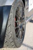 Racing tires Stock Photo