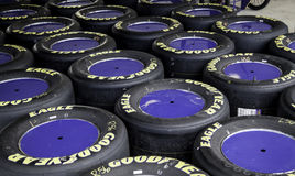 Racing Tires Stock Image