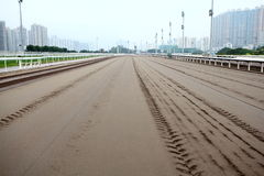 Racing Track Stock Photography