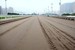 Racing Track. Racecourse Racing Track in Sha Tin Racecourse, HongKong Stock Photography