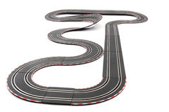 Racing track isolated Royalty Free Stock Photography