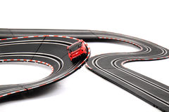Racing track isolated Stock Photos