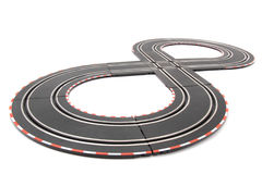 Racing track isolated Royalty Free Stock Images
