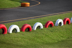 Racing track for karting Royalty Free Stock Photos