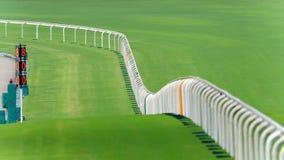 Racing Track. Racecourse Racing Track in Hong Kong Royalty Free Stock Photos