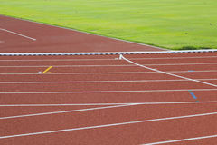 Racing track. In the stadium Stock Photography