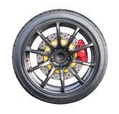 Racing wheel Stock Images
