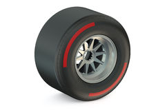 Racing wheel with hard tyre Royalty Free Stock Photography