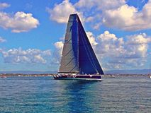 Racing yacht Royalty Free Stock Photo