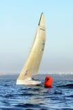 Racing yachts Melges-24 Royalty Free Stock Images