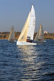 Racing yachts Royalty Free Stock Photography