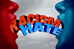 Racism And Hate Social Issue Stock Photo