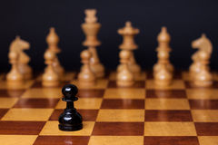 Racisme d'échecs Photos stock