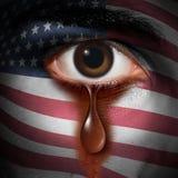 Racismo en América ilustración del vector