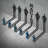 Racistische Sociale Kwestie stock illustratie