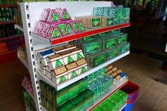 Rack with Ceylon green tea Stock Images