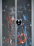 Rack data canter Royalty Free Stock Photography