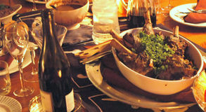 Rack of Lamb. For dinner Royalty Free Stock Photos