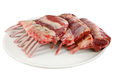 Rack of lamb Stock Photography