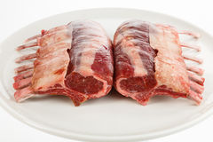 Rack of lamb Royalty Free Stock Photo