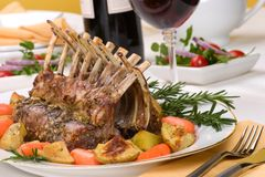 Rack of Lamb Stock Photos