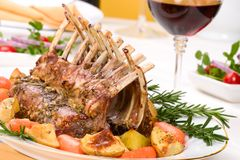 Rack of Lamb Royalty Free Stock Images