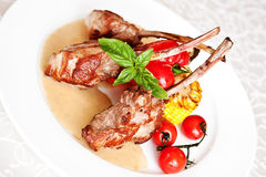 Rack of lamb Royalty Free Stock Photos