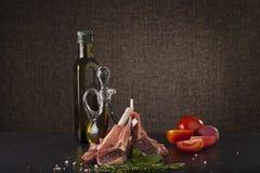 Rack of lamb Stock Photography