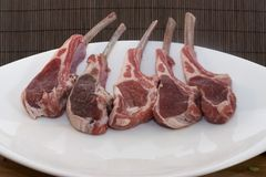 Rack of lambs Royalty Free Stock Photo