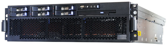 Rack mount server royalty free stock photography