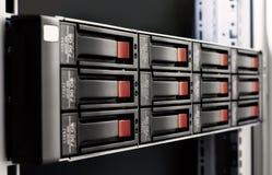 Rack-mounted Plattereihe Lizenzfreies Stockfoto