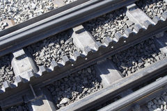 Rack rails Stock Image