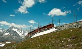 Rack railway Stock Images