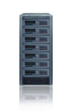 Rack server Stock Image