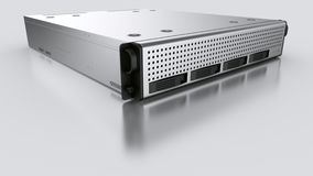 Rack server Stock Photo