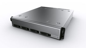 Rack server Royalty Free Stock Images