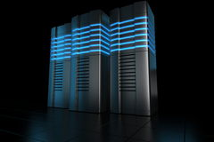 Rack servers Royalty Free Stock Photography
