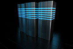 Rack servers Royalty Free Stock Photos