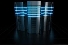 Rack servers Stock Photos