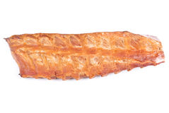 Rack of Smoked Pork Rib Stock Photography