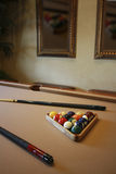 Rack them up billiards Royalty Free Stock Images