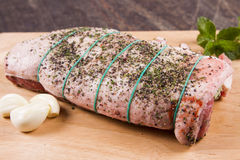 A rack of Welsh lamb Royalty Free Stock Photos