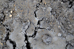 Сracked ground and clay texture. Brown cracked ground and clay texture Royalty Free Stock Photos