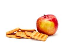 Rackers y manzana del ¡de Ð Fotografía de archivo