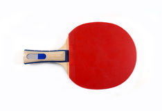 Racket. A red table tennis racket Stock Images