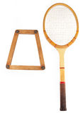 Racket and case Royalty Free Stock Photo