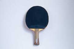 racket en bal die op wit wordt geïsoleerde Royalty-vrije Stock Foto